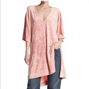 Free People Luxe Velvet Tunic Dress